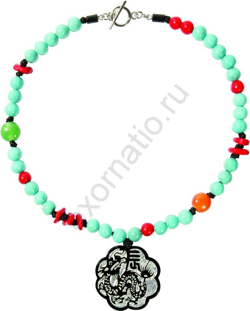 Колье Zsiska 1120202SDRAQ44. Коллекция Symbols