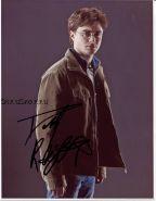 Автограф: Дэниэл Рэдклифф. Гарри Поттер и Дары Смерти