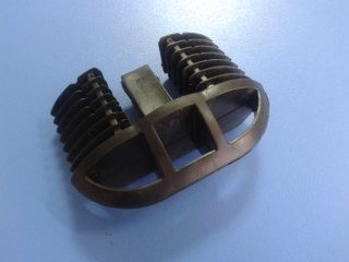 Заглушка для аэродинамических дуг Lux, 73 мм