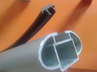Резиновый уплотнитель для аэродуг Атлант