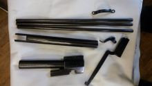 Воронение изделий из оружейной стали и стальных сплавов горячим оксидированием
