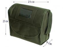Несессер для военнослужащих зеленый камуфляж