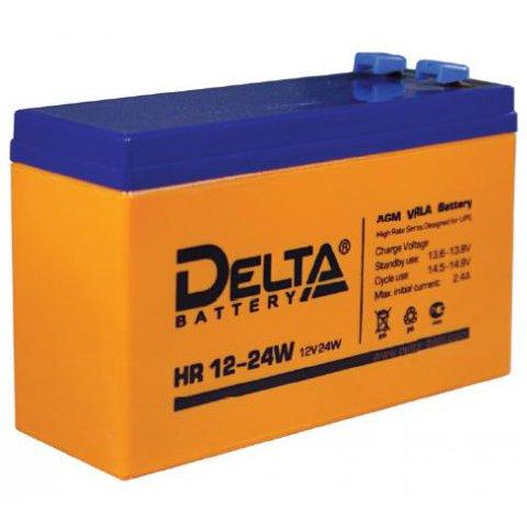 Аккумулятор свинцово-кислотный АКБ DELTA (Дельта) HR 12-24W 12 Вольт 6Ач