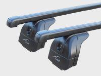 Багажник на крышу Chevrolet Orlando, Lux, прямоугольные стальные дуги