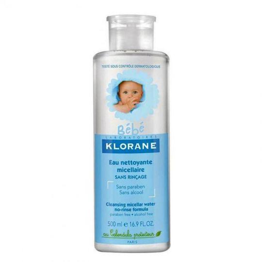 Клоран Очищающая мицеллярная детская вода бебе