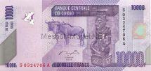 Банкнота Конго 10 000 франков 2006 год