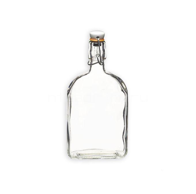 Бутылка стеклянная Викинг, 1750 мл (бугель)