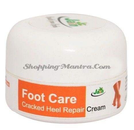 Заживляющий крем для ног Джайн Аюрведик   Jain Ayurvedic Cracked Heel Repair Cream