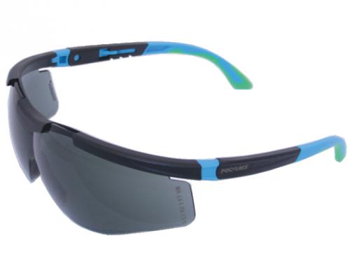 Очки открытые РОСОМЗ О87 Arctic StrongGlass™ (5-3,1 PC) зеркально-голубые