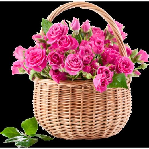 Цветочная корзинка МОИ ЧУВСТВА