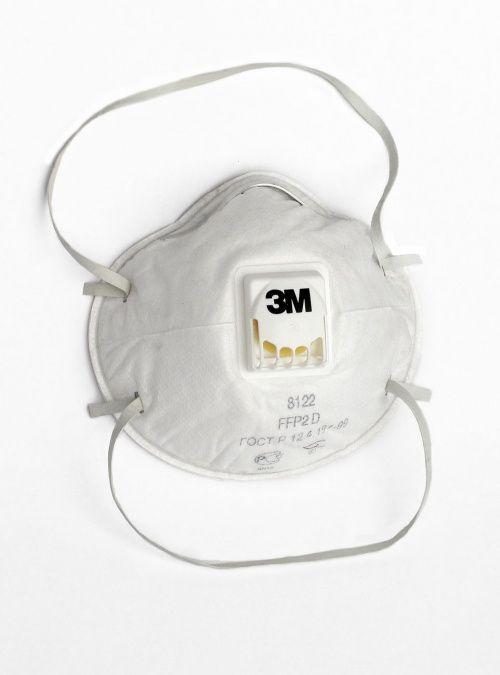 Респиратор противоаэрозольный 3М-8112 FFP1 с клапаном до 4ПДК