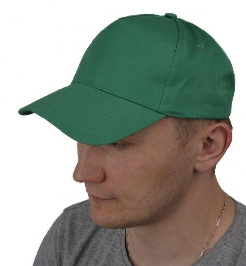 Бейсболка ярко-зеленая
