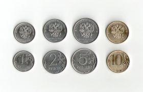 Годовой Набор монет 2016 года. 1, 2, 5 и 10 рублей с НОВЫМ ГЕРБОМ