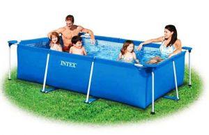Каркасный бассейн 220х150х60см, INTEX