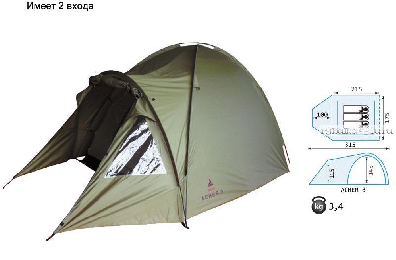Купить Палатка Reisen Acher 3 (olive)