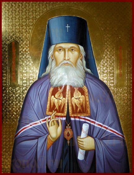 Икона Антоний Михайловский (рукописная)