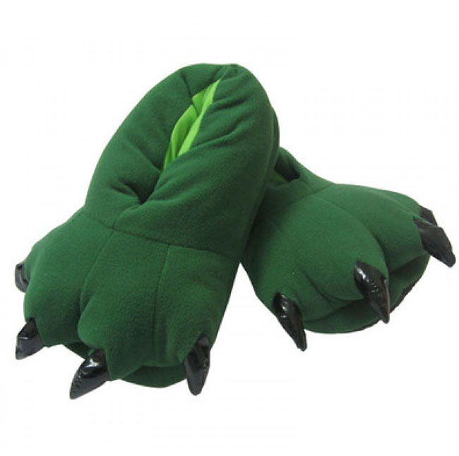 Тапочки Кигуруми Зеленые_01