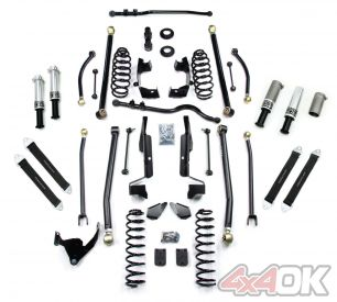 JK 2 Door Elite LCG PreRunner Long Flexarm Suspension System