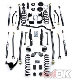 "JK 2 Door 4"" Elite LCG Long FlexArm Lift Kit w/ 9550 Shocks"