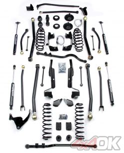 "JK 2 Door 6"" Elite LCG Long FlexArm Lift Kit w/ 9550 Shocks"