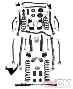 "JK 2 Door 6"" Elite LCG Long FlexArm Lift Kit"