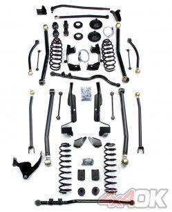 """JK 2 Door 6"""" Elite LCG Long FlexArm Lift Kit"""