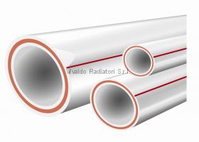 Армированная ППР полипропиленовая труба d20*2.8 (стекловолокно) PN16 - 1 метр
