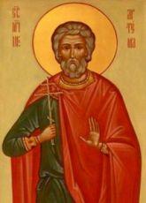 Икона Артема Кизический (рукописная)