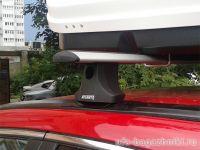 Багажник на крышу Honda CR-V (2007-11), Атлант, крыловидные дуги