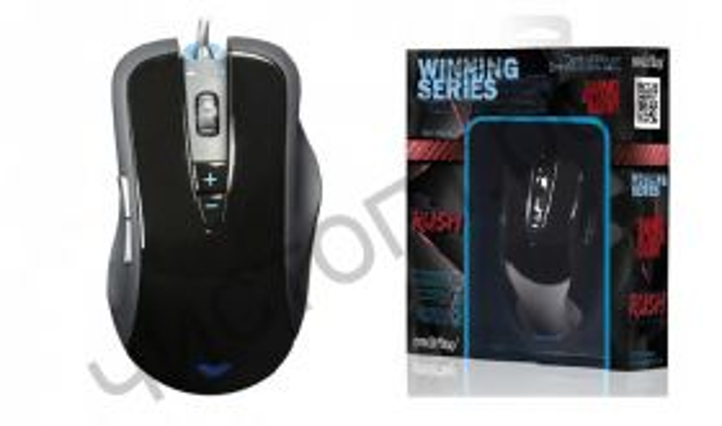 Мышь провод. игров. Smartbuy RUSH 703 черная (SBM-703G-K)