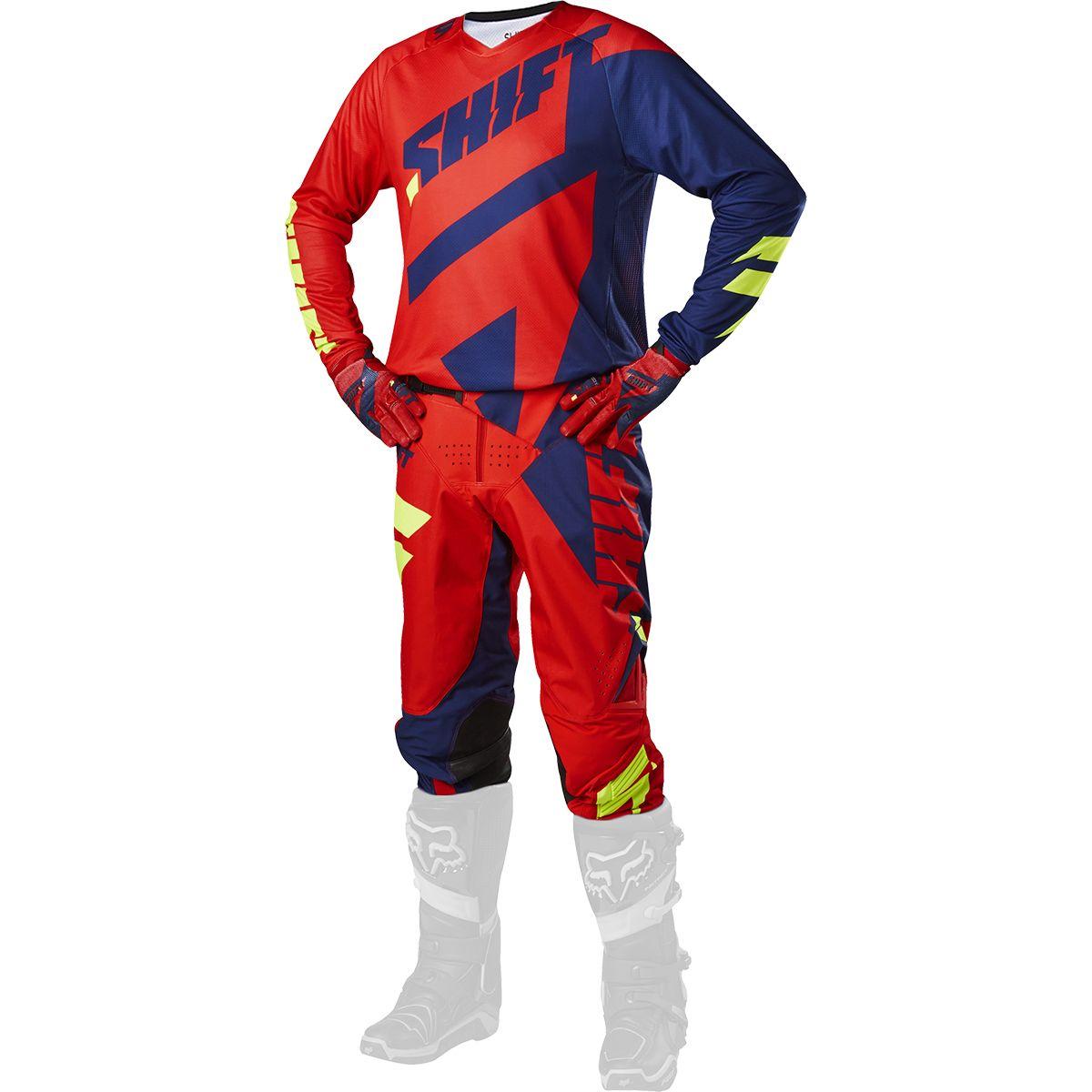 Shift - 2017 3LACK Mainline комплект штаны и джерси, сине-красные