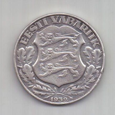 2 кроны 1932 г. Эстония