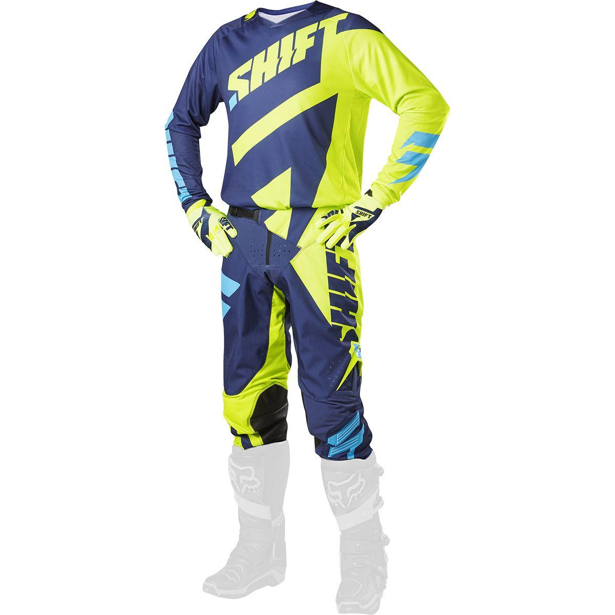 Shift - 2017 3LACK Mainline комплект штаны и джерси, желтые