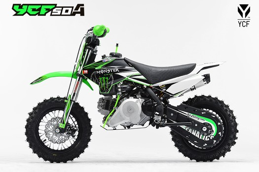 Питбайк YCF-50A MONSTER Limited Edition 10/10 ,49 сc 2016г.