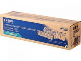 C13S050560  Тонер-картридж  оригинальный EPSON голубой для AcuLaser C1600/CX16