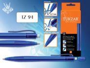 Ручка масляная TZ-1145 игла. син. корп. синяя (01681)
