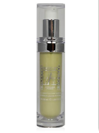 Make-Up Atelier Paris Fluid Foundation FLWCV1 Тон-флюид водостойкий CV1 миндальный (зеленый миндаль)
