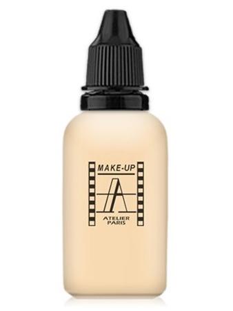 Make-Up Atelier Paris HD Fluid Foundation Beige AIR1NB Тон-флюид водостойкий для аэрографа 1NB нейтральный бледно-бежевый