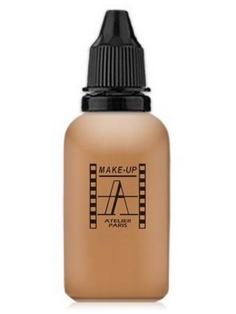 Make-Up Atelier Paris HD Fluid Foundation Beige AIR4NB Natural beige honey Тон-флюид водостойкий для аэрографа 4NB нейтральный бежевый