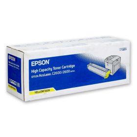 C13S050226  Тонер-картридж  оригинальный EPSON желтый для AcuLaser C2600