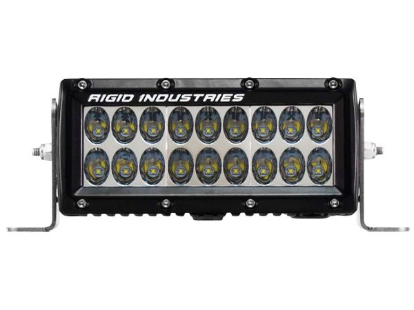"""Двухрядная светодиодная балка Rigid Industries 6"""" Е2-Серия (18 светодиодов) Водительский свет"""