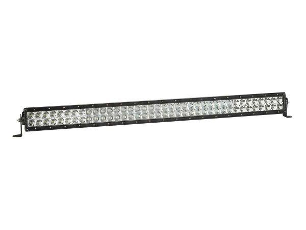 """Двухрядная светодиодная балка Rigid Industries 38"""" E -Серия A/W (76 светодиодов) Комбинированный свет - Янтарный / Белый"""