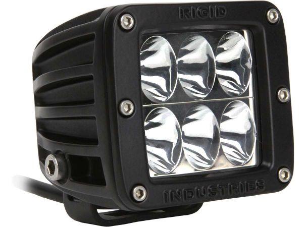 Квадратная светодиодная фара Rigid Industries Dually D2 H/L (6 светодиодов) Водительский свет