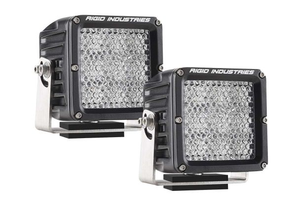 Квадратная светодиодная фара Rigid Industries Dually XL (9 светодиодов) Рабочий свет, комплект 2 шт.