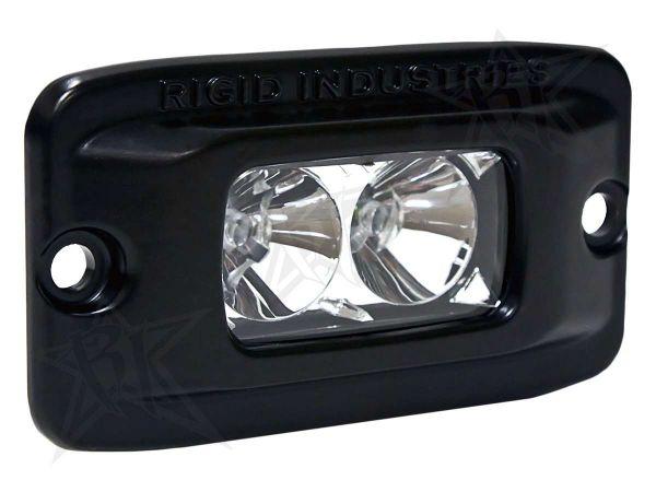 Врезная однорядная светодиодная фара ближнего света Rigid Industries SRMF (2 диода)