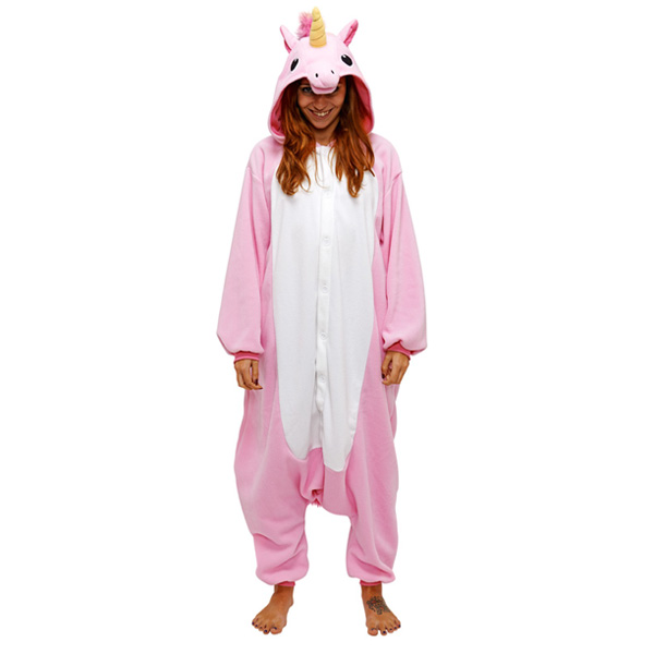 Пижама Кигуруми Единорог Розовый_02