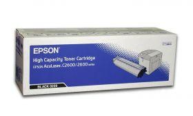 C13S050229  Тонер-картридж   оригинальный EPSON черный для AcuLaser C2600