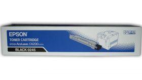 C13S050245  Тонер-картридж  оригинальный EPSON черный