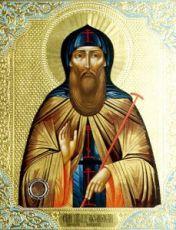 Икона Афанасий Высоцкий, Младший (рукописная)