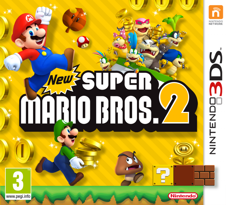 Игра New Super Mario Bros. 2 (Nintendo 3DS)